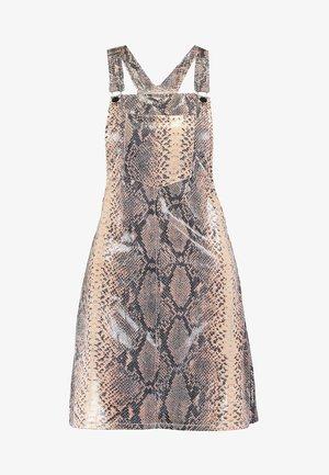 ANIMAL PINI DRESS SNAKE - Vapaa-ajan mekko - brown