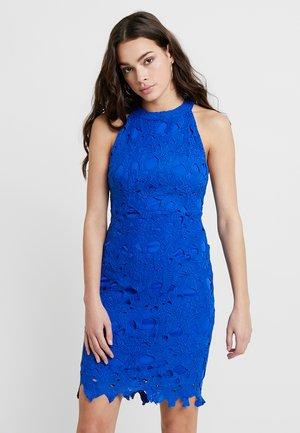 HALTER NECK MINIDRESS - Koktejlové šaty/ šaty na párty - cobalt