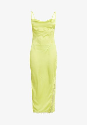 SIDE SPLIT DRESS - Maxi dress - limeade