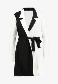 Missguided - LONG SLEEVE DRESS - Jersey dress - white - 5