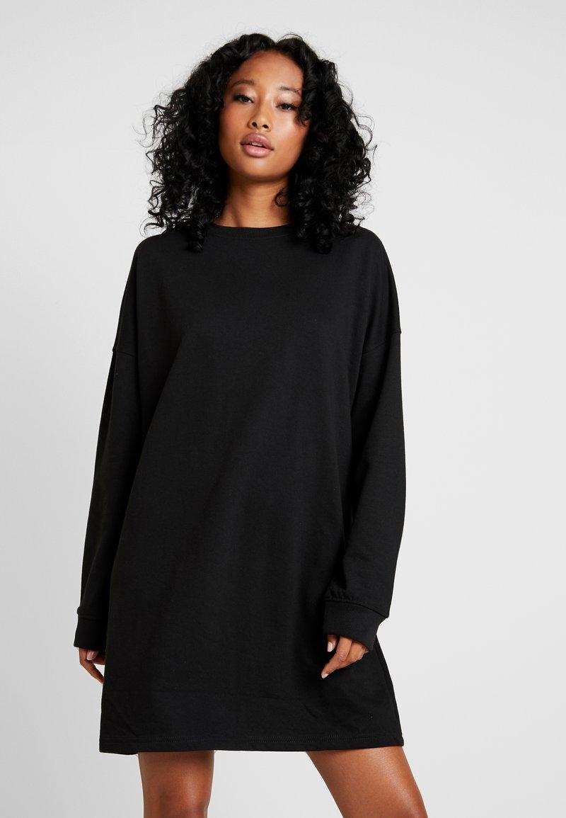 Missguided - DRESS - Freizeitkleid - black