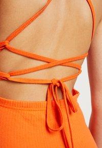 Missguided - MULTIWAY STRAP DRESS - Vestito estivo - orange - 6