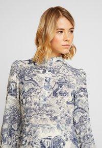 Missguided - CHINA PLATE ALINE SHIRT DRESS - Shirt dress - blue - 5