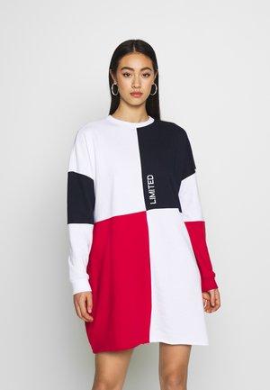 OVERSIZED DRESS  - Day dress - navy