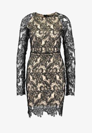 LONG SLEEVED DRESS - Vestido de cóctel - black