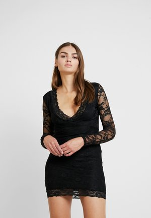 FRIDAY PLUNGE BODYCON MINI DRESS - Cocktail dress / Party dress - black