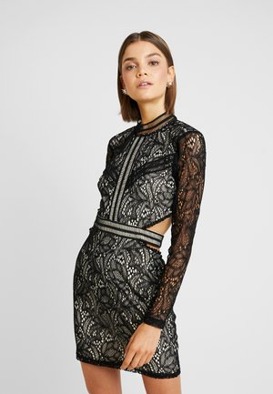 FRIDAY CUT OUT SIDES MINI DRESS - Robe de soirée - black