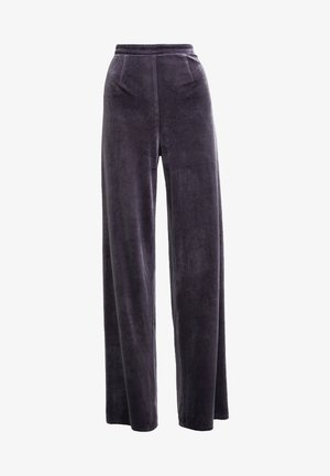 LIGHT MAGIC WIDE LEG TROUSERS - Pantalon classique - purple