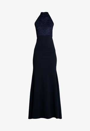 BRIDESMAID HALTERNECK FISHTAIL MAXI - Robe de cocktail - navy