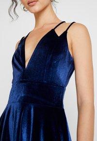 Missguided - STRAPPY CROSS BACK MINI DRESS - Robe de soirée - navy - 5