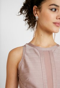 Missguided - BANDAGE DRESS - Shift dress - pink - 5