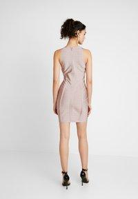 Missguided - BANDAGE DRESS - Shift dress - pink - 3