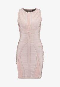 Missguided - BANDAGE DRESS - Shift dress - pink - 4