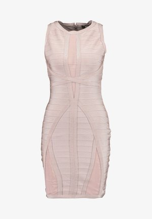 BANDAGE DRESS - Pouzdrové šaty - pink