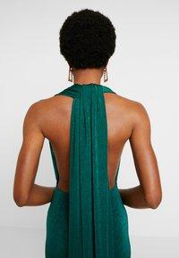 Missguided - SLINKY MULTIWAY DRESS - Společenské šaty - green teal - 6
