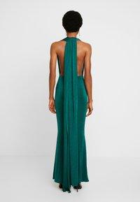 Missguided - SLINKY MULTIWAY DRESS - Společenské šaty - green teal - 3