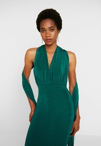 Missguided - SLINKY MULTIWAY DRESS - Společenské šaty - green teal - 4