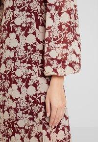 Missguided - MILKMAID MIDAXI DRESS - Robe longue - burgundy - 5