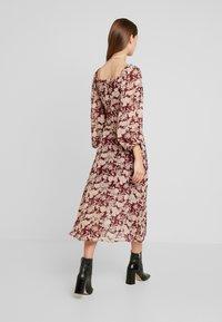 Missguided - MILKMAID MIDAXI DRESS - Robe longue - burgundy - 2