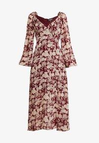 Missguided - MILKMAID MIDAXI DRESS - Robe longue - burgundy - 4