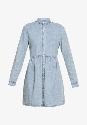 SMOCK DRESS - Dongerikjole - blue