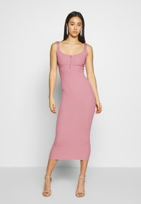 Missguided - DRESS - Vestido de tubo - ash rose - 0