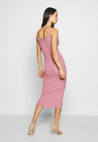 Missguided - DRESS - Vestido de tubo - ash rose - 2