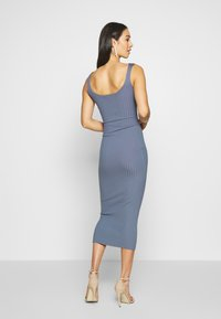 Missguided - DRESS - Etui-jurk - denim blue - 2