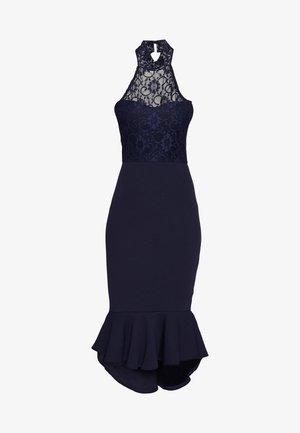 DIP MIDI DRESS BRIDESMAID - Jersey dress - navy