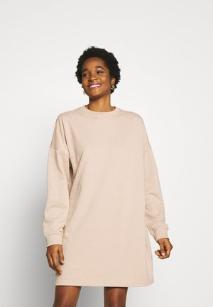BASIC  DRESS - Kjole - stone