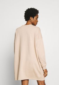 Missguided - BASIC  DRESS - Robe d'été - stone - 2