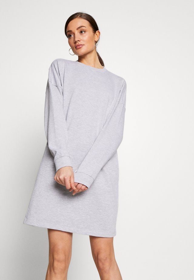 BASIC  DRESS - Vardagsklänning - grey