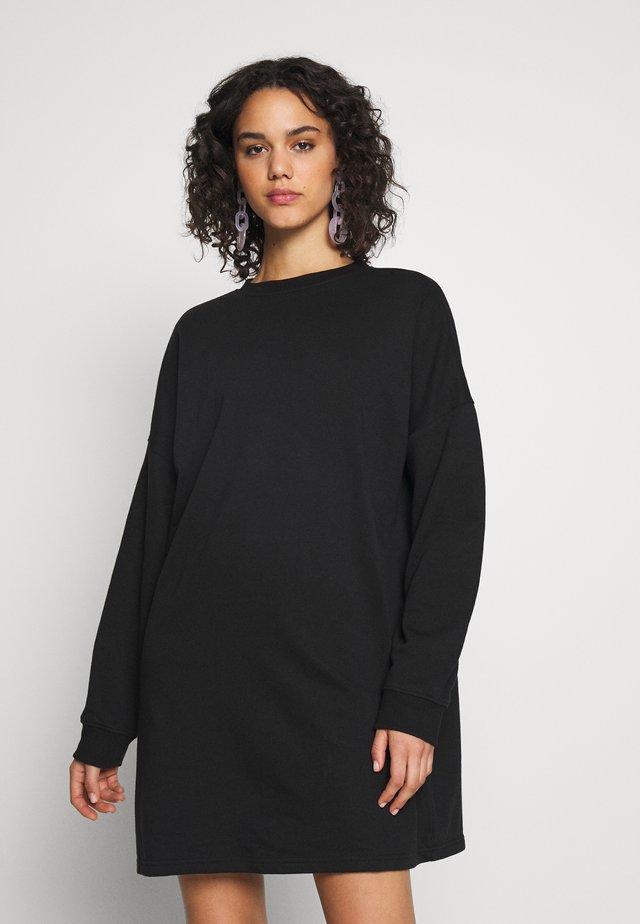 BASIC  DRESS - Denní šaty - black