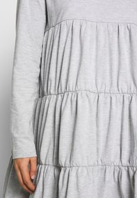 Missguided - TIERED SMOCK DRESS - Robe d'été - grey - 5