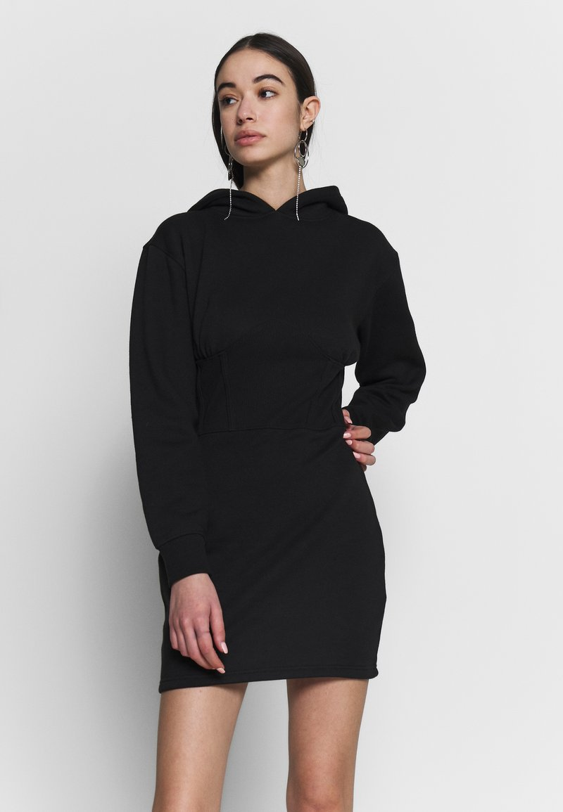 Missguided - CORSET DRESS - Vestido informal - black