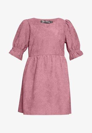OVERSIZED SMOCK DRESS FRILL SLEEVE - Kjole - blush