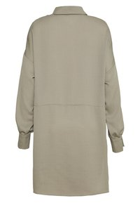 Missguided - TEXTURED UTILITY SHIRT DRESS - Korte jurk - sage green - 1