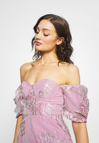 Missguided - PUFF SLEEVE MINI DRESS - Juhlamekko - pink - 3