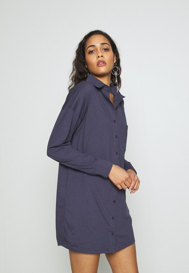 CODE CREATE BACK  DRESS - Jersey dress - navy