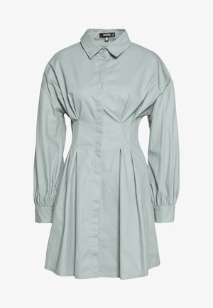 PLEATED WAIST DRESS - Paitamekko - sage