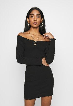 LETTUCE MINI DRESS 2 PACK  - Day dress - camel/black