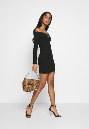 LETTUCE MINI DRESS 2 PACK  - Vardagsklänning - grey/black