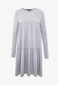 Missguided - TIERED SMOCK DRESS - Jersey dress - grey - 3