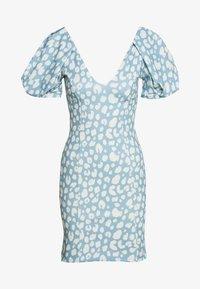 Missguided - PUFF MINI DRESS - Jersey dress - multi coloured - 0