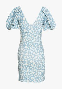 Missguided - PUFF MINI DRESS - Jersey dress - multi coloured - 1