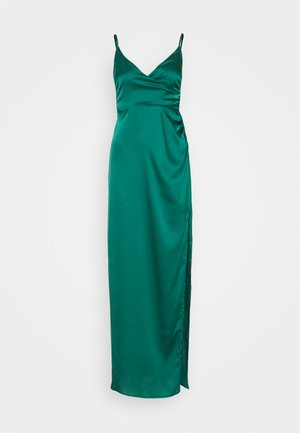 CAMI WRAP GOWN - Galajurk - green
