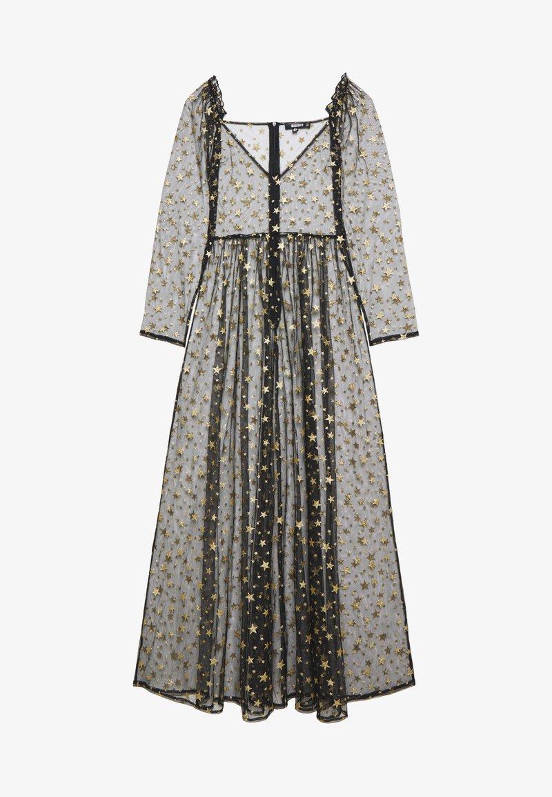 Missguided - FESTIVAL EXCLUSIVE STAR PRINT DRESS - Maxi šaty - black