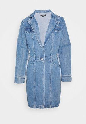 BLAZER FIT DRESS  - Kurzmantel - mid blue