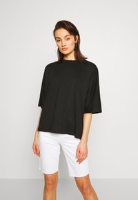 Missguided - DROP SHOULDER OVERSIZED 2 PACK - T-shirts - white/black - 1