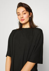 Missguided - DROP SHOULDER OVERSIZED 2 PACK - T-shirts - white/black - 6